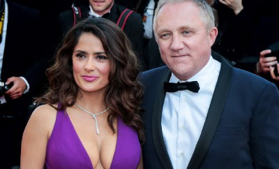 Salma-Hayek-and-Francois-Henri